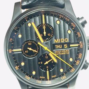 MIDO Swiss Watch - Multitfort Men's Chronograph